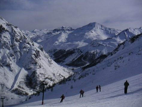 Ski Piste Tignes