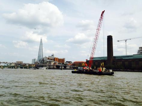 Thames and The Shard London