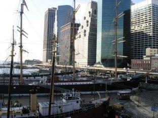 NY tea clipper port