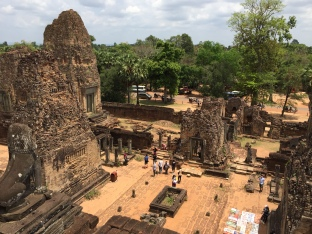 Temple Ruins Siem Reap Cambodia
