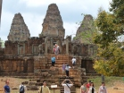 Temple Cambodia Steps and nodules