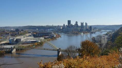 Pittsburgh River and City View