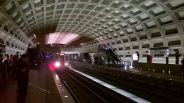 Washington DC Subway Train