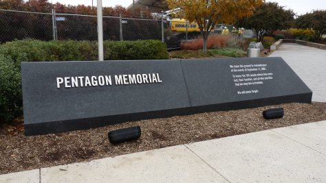 Pentagon Memorial Sign