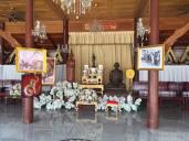 King Shrine In Temple Bangkok