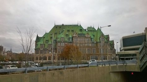 Quebec City Green Roof Building